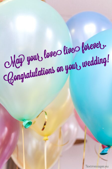 Best texts for wedding card