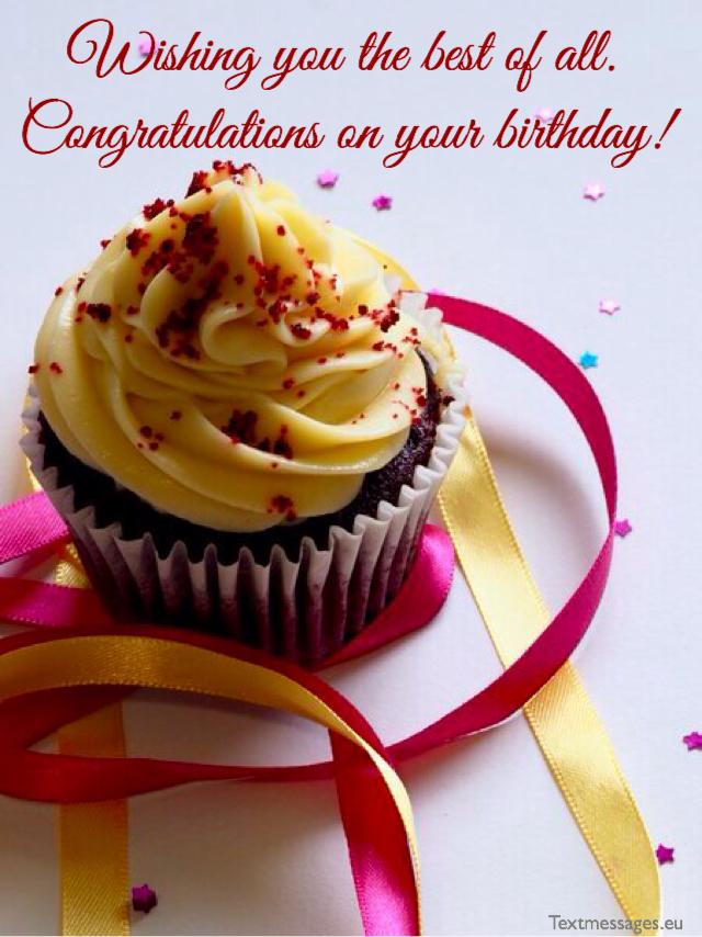 Congratulations on birthday anniversary