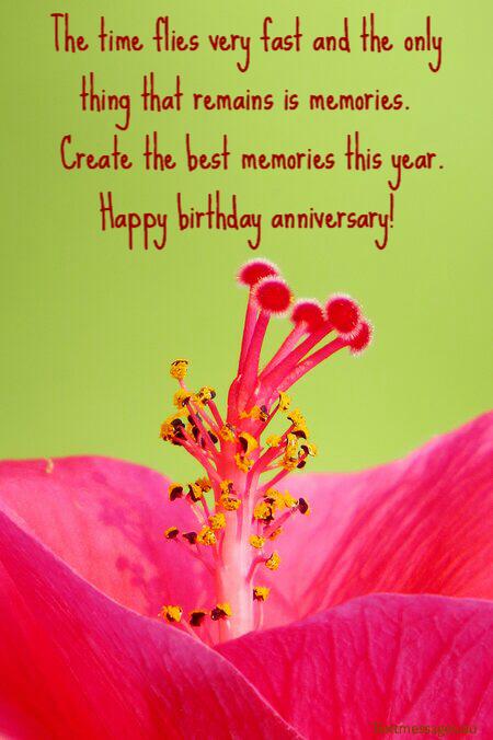 Happy birthday anniversary wishes