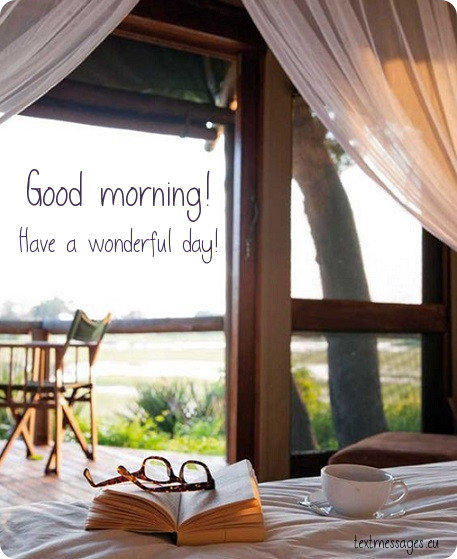 beautiful morning card for her