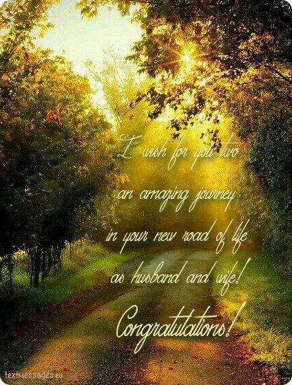 beautiful wedding message