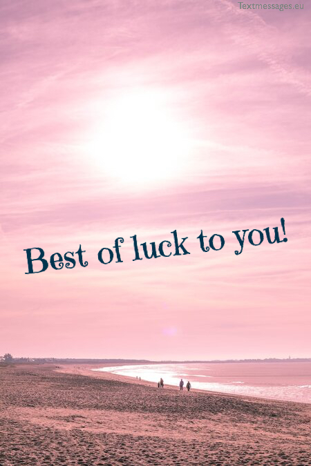 Best of luck wishes