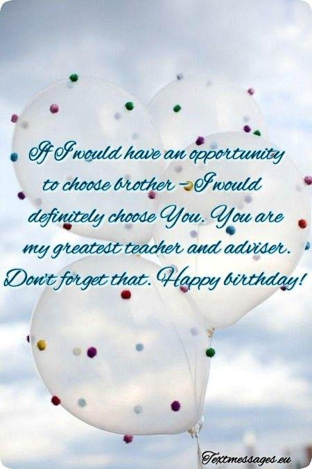 Top 50 Happy Birthday Wishes For Brother With Images