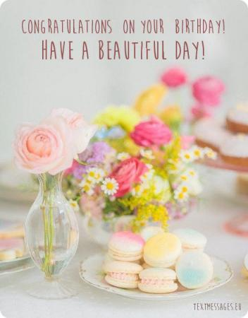 birthday image with flowers