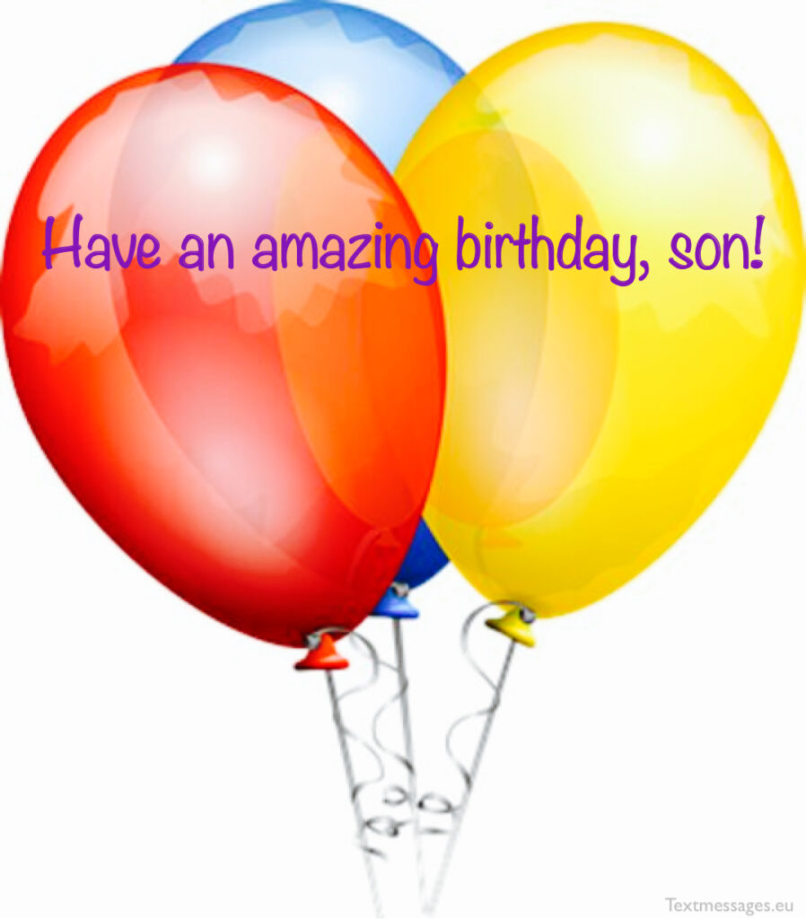 Birthday quotes for son