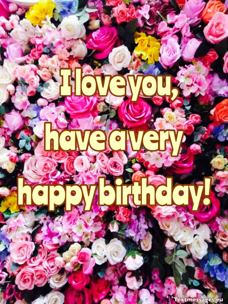 Nice birthday greeting words for mom