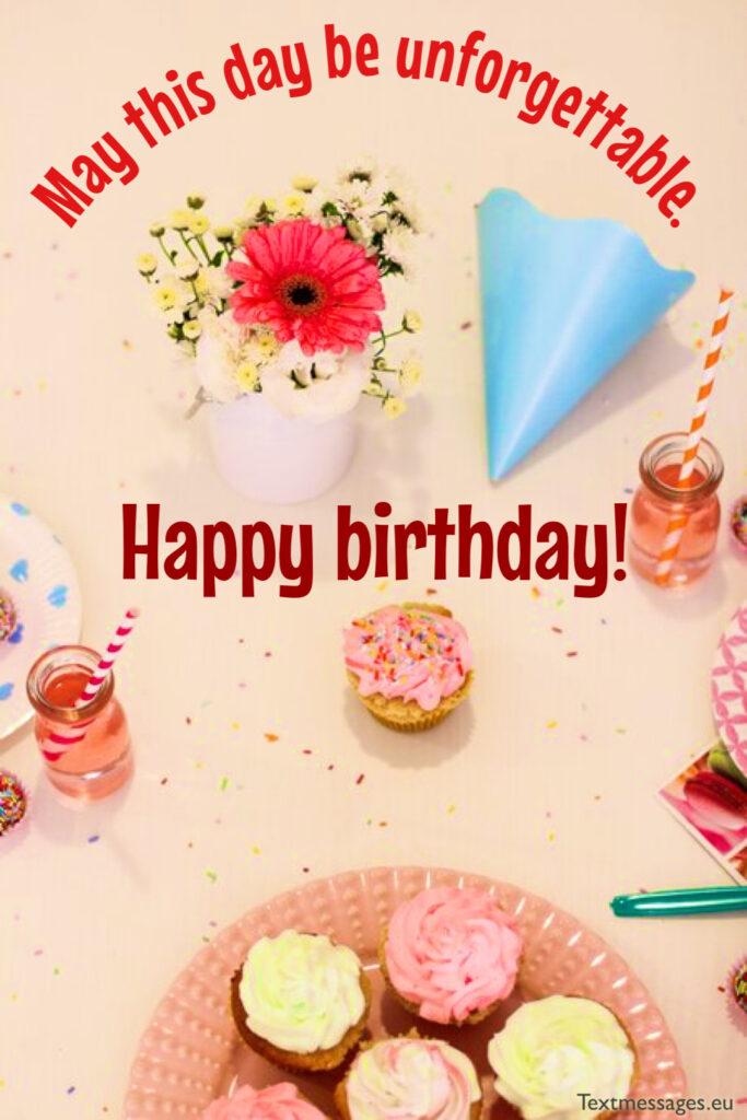 Birthday congratulations for teacher