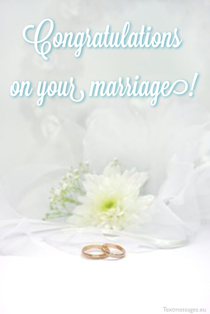 card for newly married