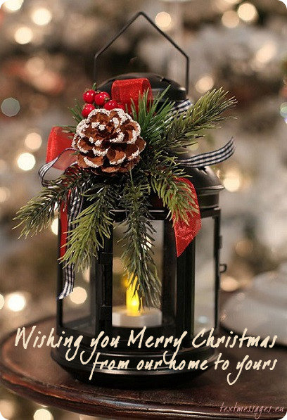 Merry Christmas From Our Home To Yours.Top 50 Merry Christmas Wishes For Family Christmas Cards