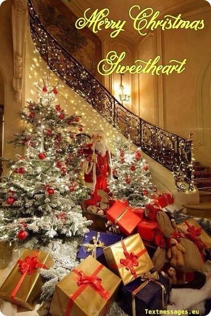 christmas card for lover