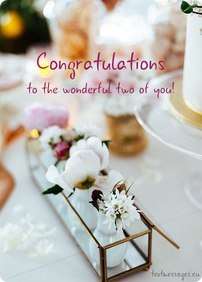 congratulations on marriage for friend