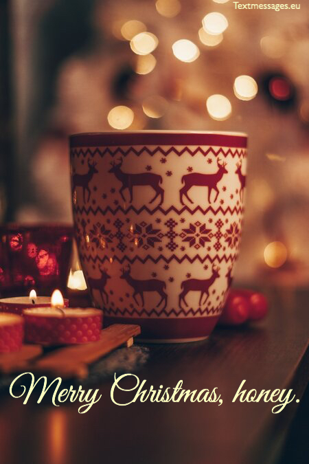 Cute Christmas messages for him