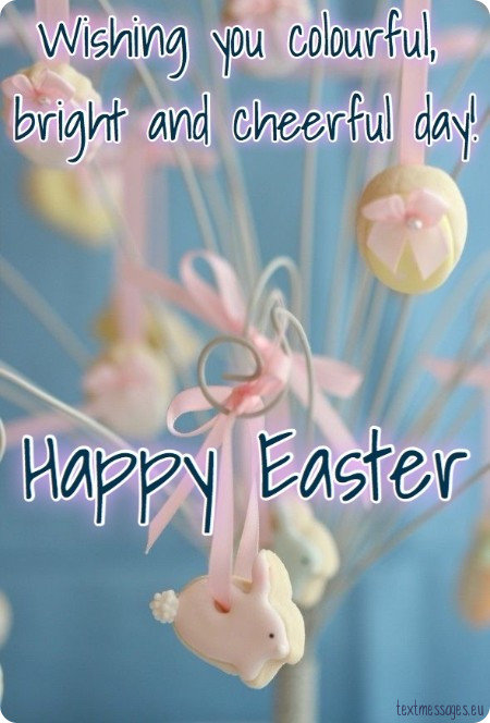 easter card for friends