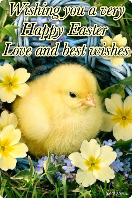 easter greeting for friends