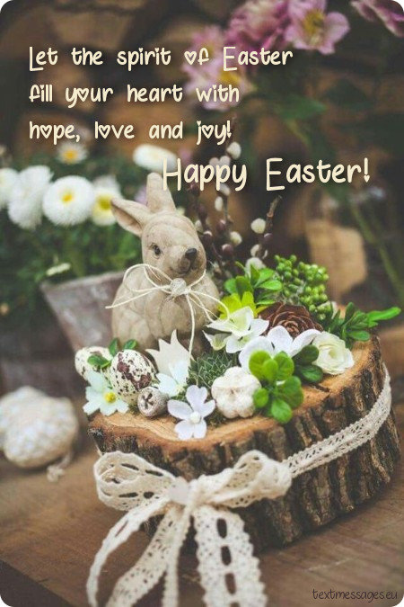Top 55 happy easter messages for friends with images easter image for friends negle Image collections