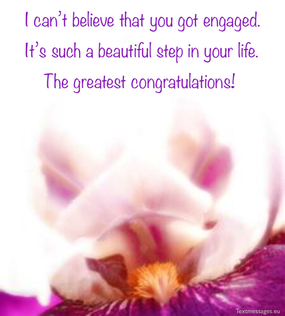 Happy engagement quotes for friend