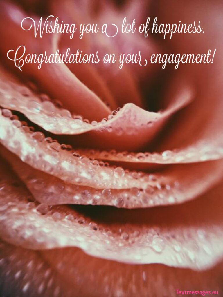 Sweet engagement messages for friend