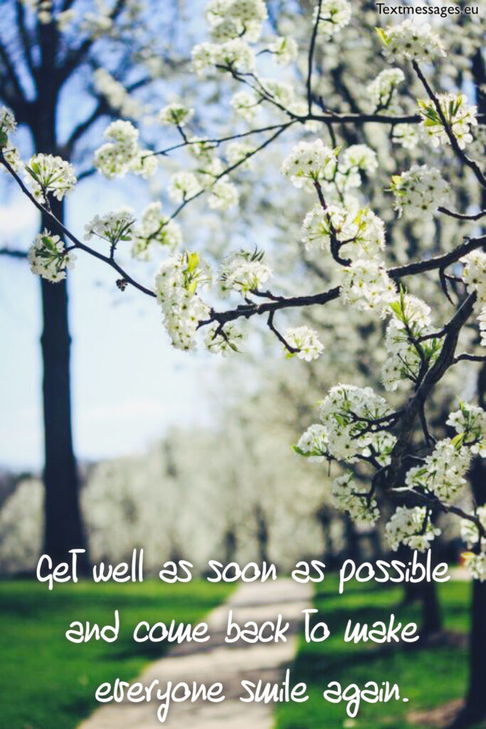 get well card for colleague