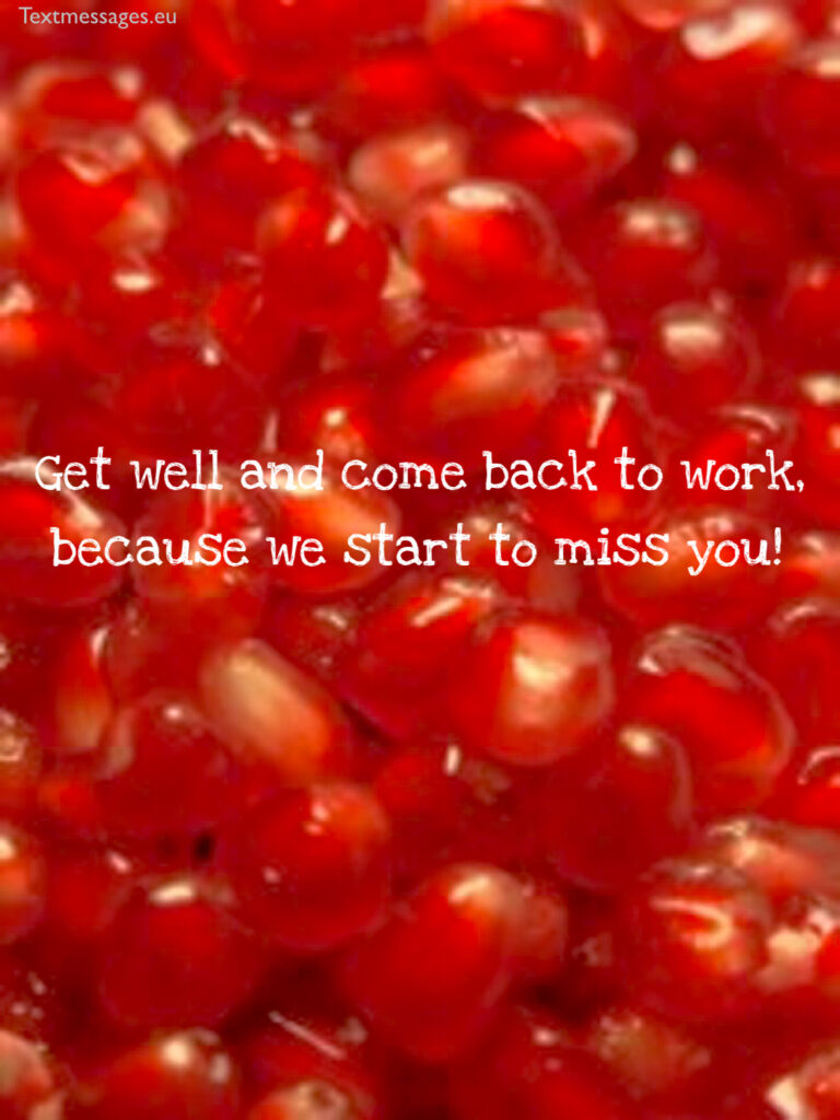 get well quotes for colleague
