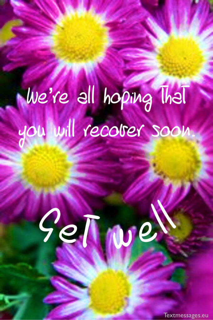 Get well soon wishes for boss