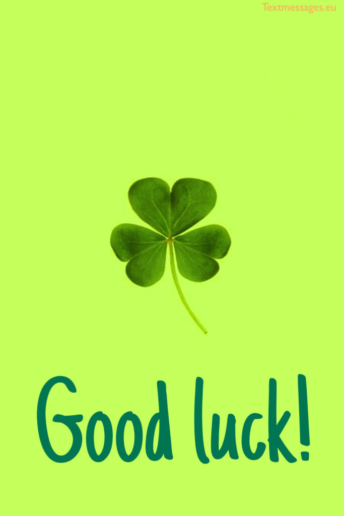 Good luck wishes for exam