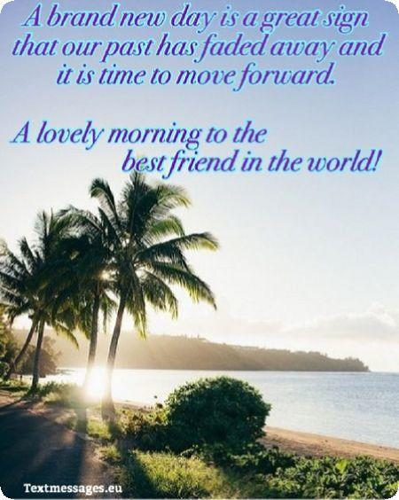 good morning card for friends