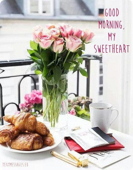 good morning ecard for girlfriend