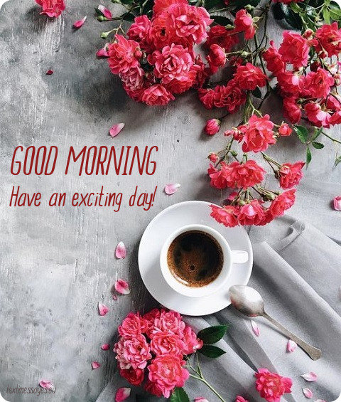 good morning text for friends