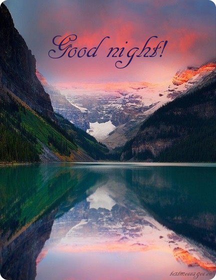 good night ecard for friends