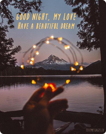 good night image for him
