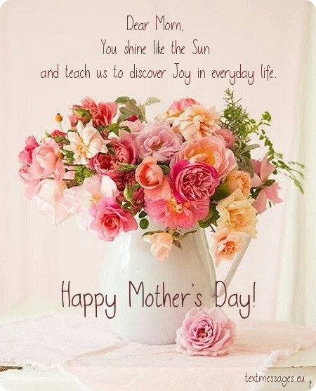 Top 50 Happy Mother's Day Messages And Wishes (With Images)