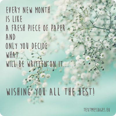 New Month Quotes Top 50 Happy New Month Messages, Images And New Month Wishes New Month Quotes