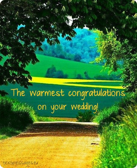 happy wedding message for friend