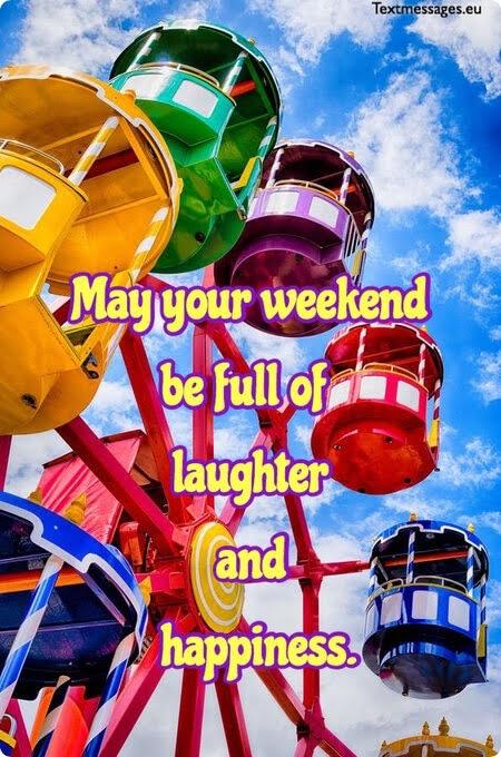 Happy weekend greetings