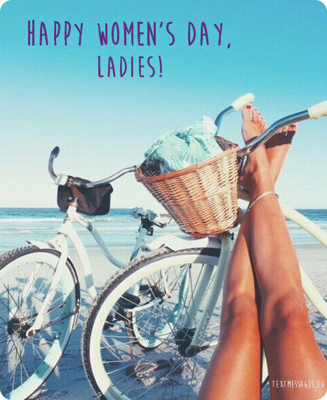 happy women's day ecard