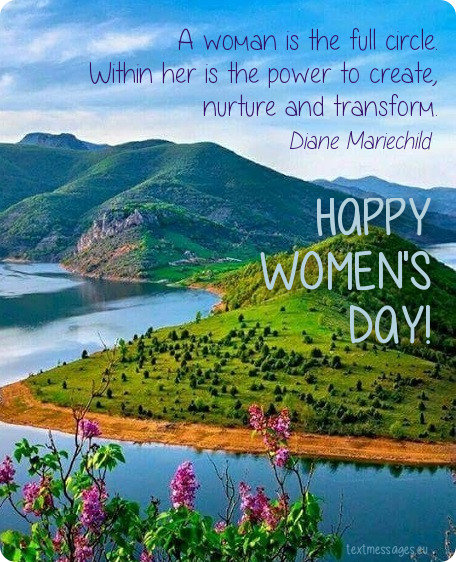 happy women's day message