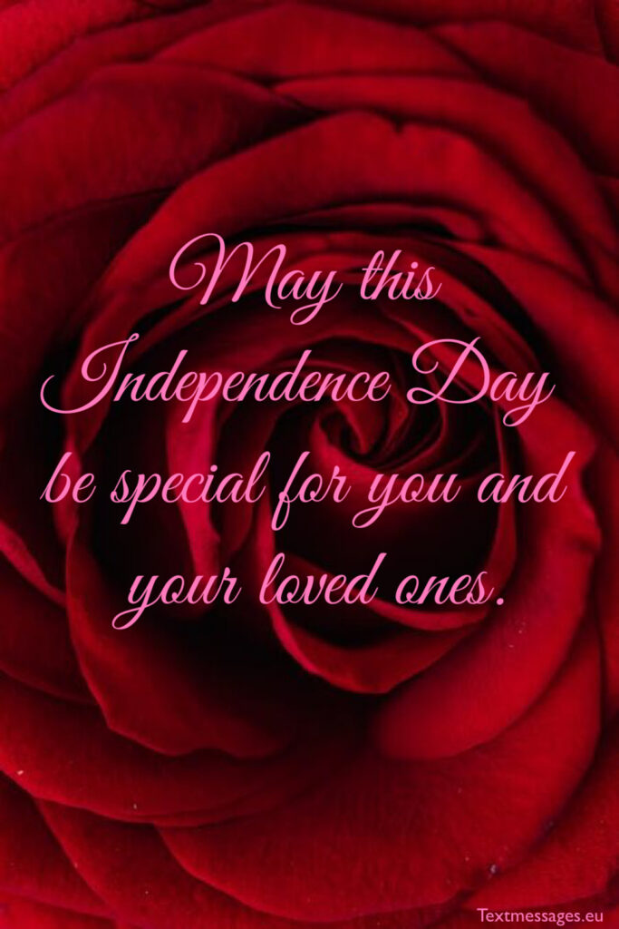July 4th congratulations