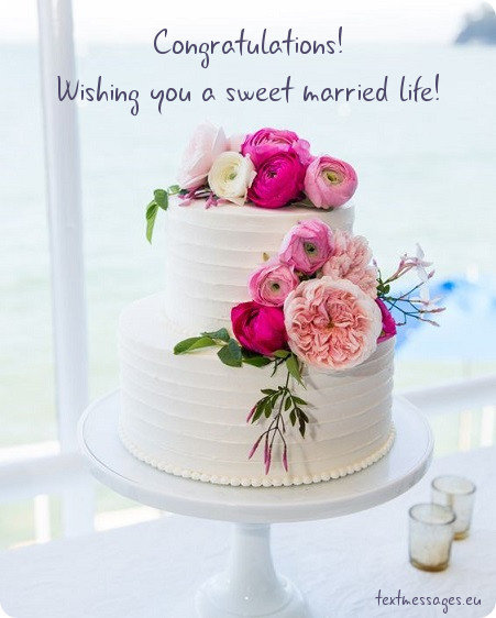 Short Wedding Wishes, Quotes & Messages (With Images