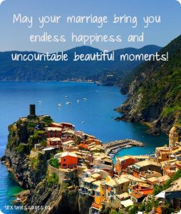 marriage greeting card