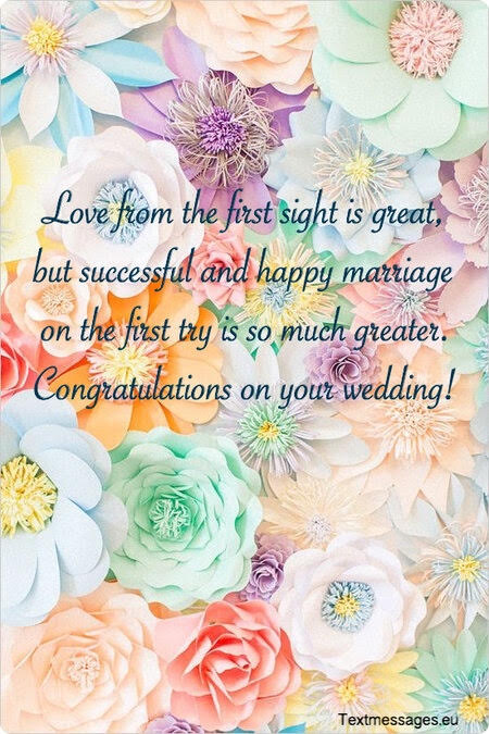 marriage greetings for friends