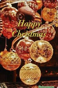 merry christmas card for friends