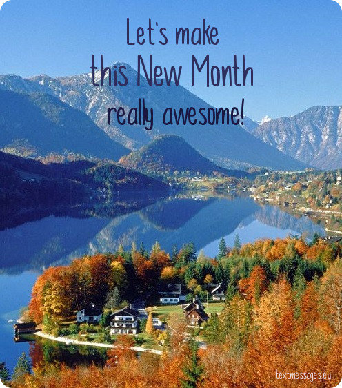 Top 50 Happy New Month Messages Images And New Month Wishes