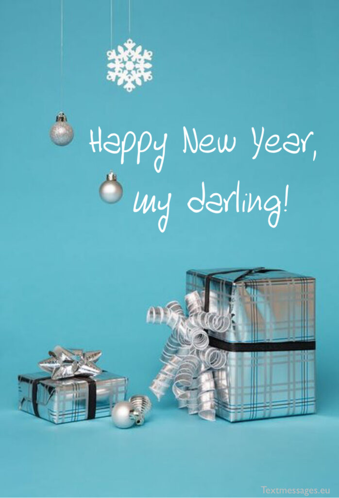 Happy New Year congratulations for her