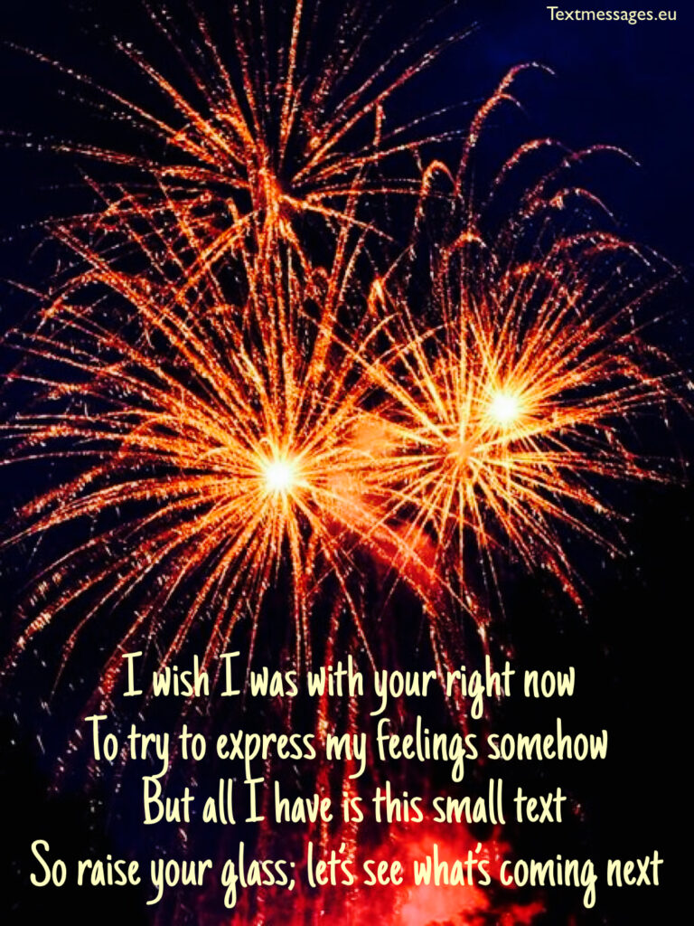 New Year rhyming quotes for family and friends