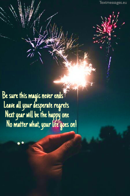 New Year poems for family and friends