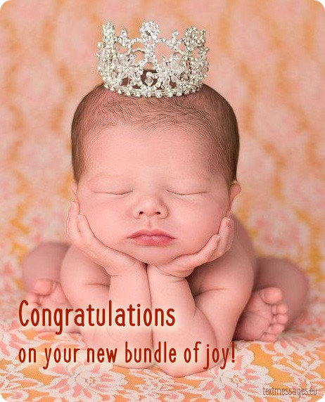newborn girl card