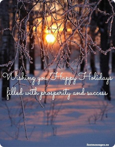 nice happy holidays ecard
