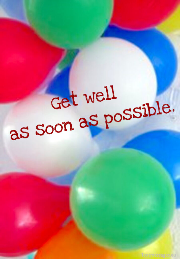 Professional get well messages for boss