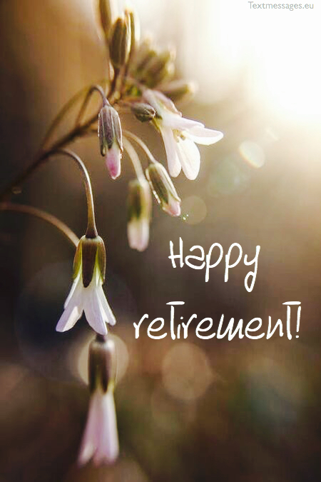 Retirement words for friend