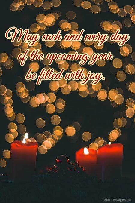 Short Christmas greetings for family